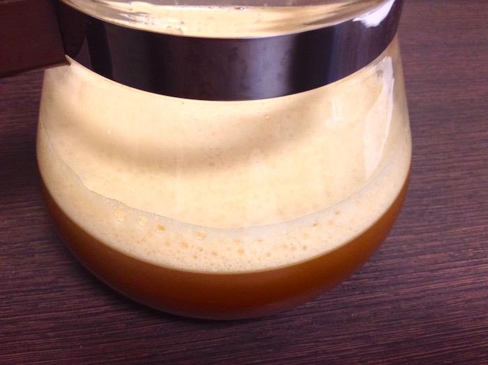 バレットプルーフ・バターコーヒー、フォーマー混ぜ