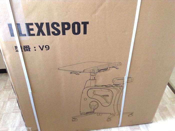 デスクエアロバイクFlexiSpot V9