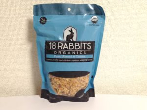 18 Rabbits, Gracious Granola、オーガニック・ペカン、アーモンド&ココナッツ