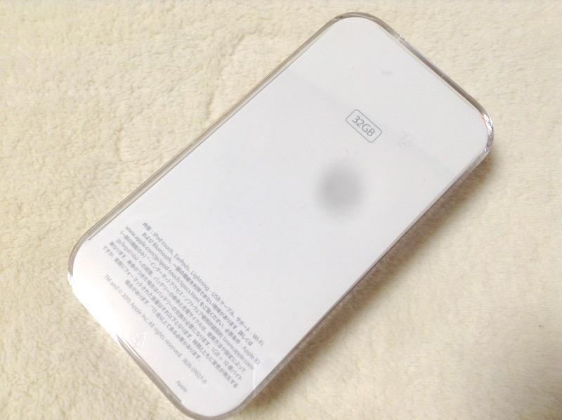 第6世代ipod touchゴールド